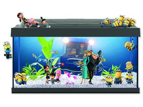 Akvárium set TETRA Mimoni LED !! POUZE OSOBNÍ ODBĚR !! 54l  - 1