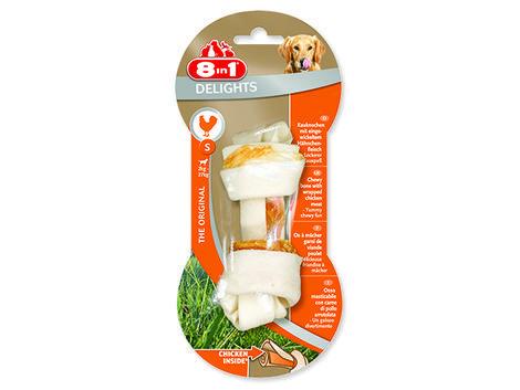 Kost 8in1 Delights žvýkací S sušeným kuřecím masem uvnitř