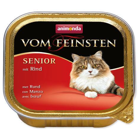 Paštika ANIMONDA Vom Feinsten Senior hovězí 100g