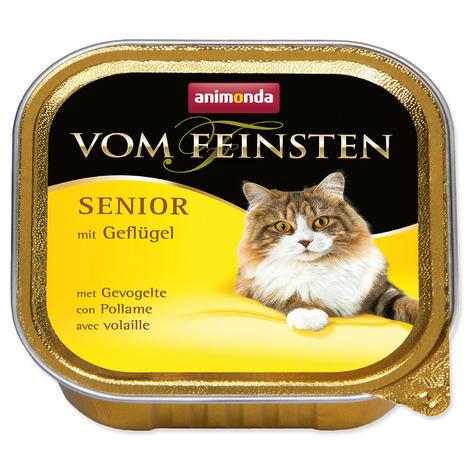 Paštika ANIMONDA Vom Feinsten Senior drůbeží 100g
