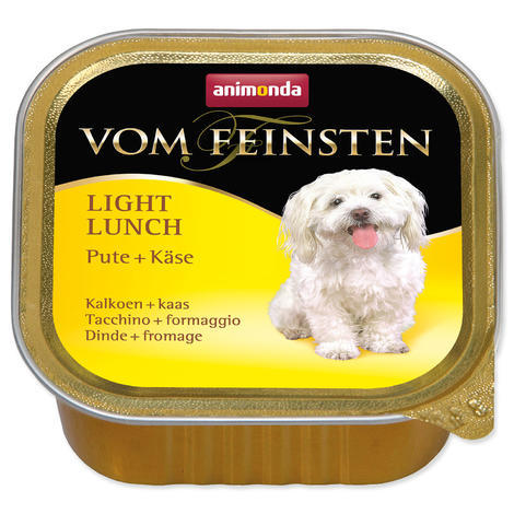 Paštika ANIMONDA Vom Feinsten light krůta + sýr 150g