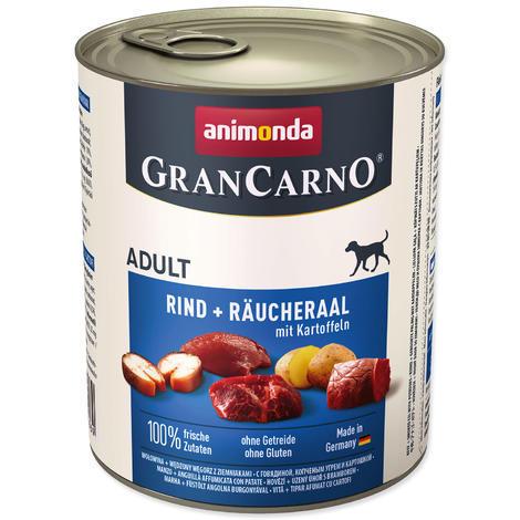 Konzerva ANIMONDA Gran Carno úhoř + brambory 800g