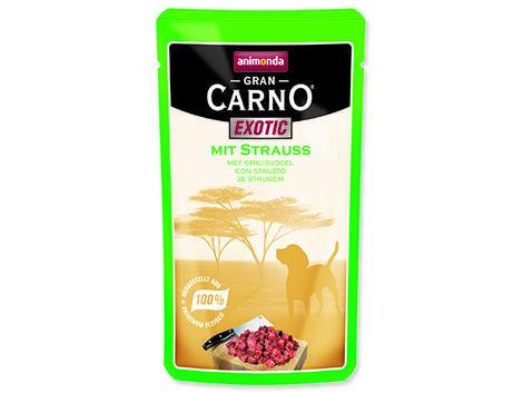 Kapsička ANIMONDA Gran Carno Exotic pštros 125g