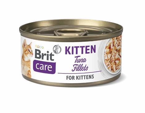 Brit Care Cat Kitten Tuna Fillets 70g