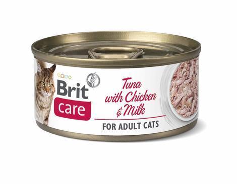 Brit Care Cat Tuna with Chicken And Milk 70g