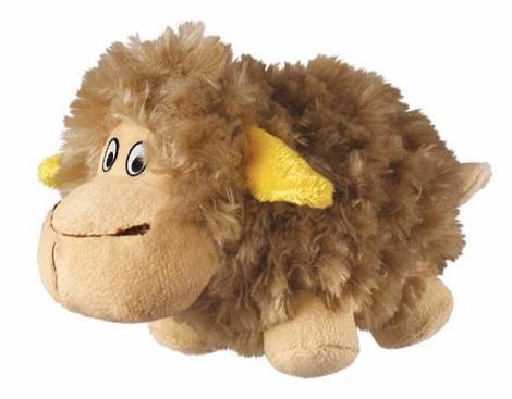 Hračka plyš Cruncheez Ovce Kong
