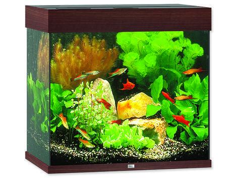 Akvárium set JUWEL Lido LED 120 tmavě hnědé !!!POUZE OSOBNÍ ODBĚR!!! 120l