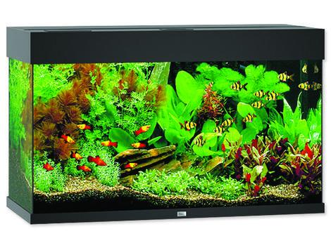 Akvárium set JUWEL Rio LED 125 černé !!!POUZE OSOBNÍ ODBĚR!!! 125l