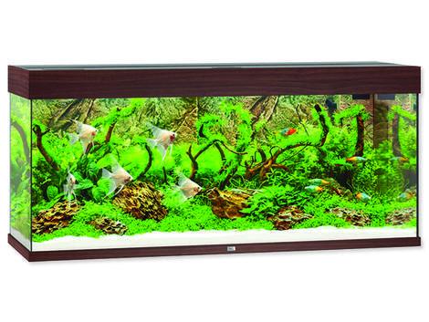 Akvárium set Juwel Rio LED 240 tmavě hnědé !!!POUZE OSOBNÍ ODBĚR!!! 240l