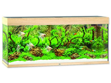 Akvárium set JUWEL Rio LED 240 dub !!!POUZE OSOBNÍ ODBĚR!!! 240l
