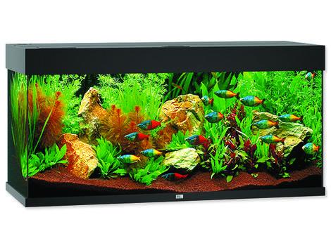 Akvárium set Juwel Rio LED 180 černé !!!POUZE OSOBNÍ ODBĚR!!! 180l