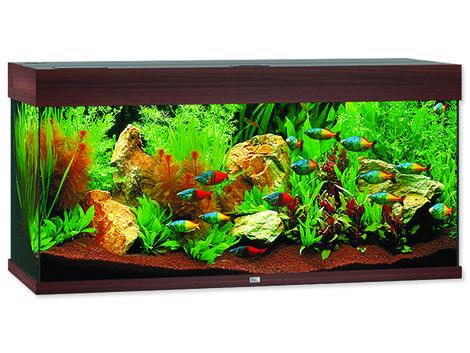 Akvárium set Juwel Rio LED 180 tmavě hnědé !!!POUZE OSOBNÍ ODBĚR!!! 180l