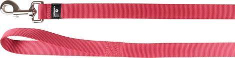 Flamingo Vodítko ZIGGI třešňově červené 200x2,5cm