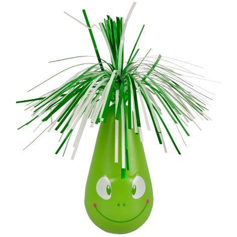 Flamingo Interaktivní hračka pro kočky houpací Crazy Frog zelená 6,5 x 20cm