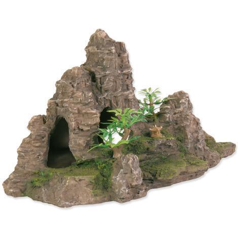 Dekorace TRIXIE skalnatý útvar s jeskyní 22cm