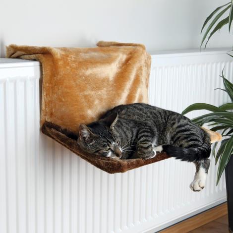 Odpočívadlo TRIXIE de Luxe na radiátor hnědé 1ks