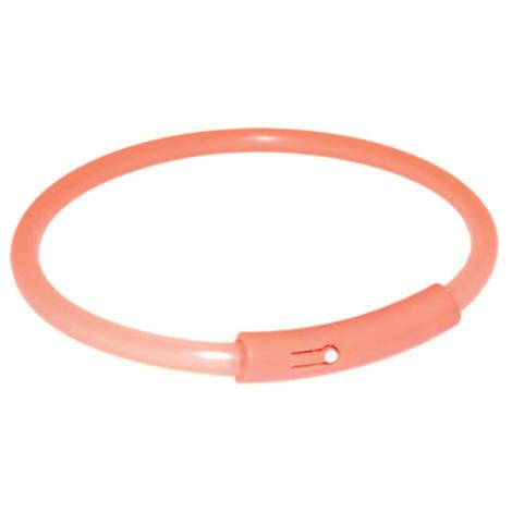 Kroužek TRIXIE blikací oranžový  S