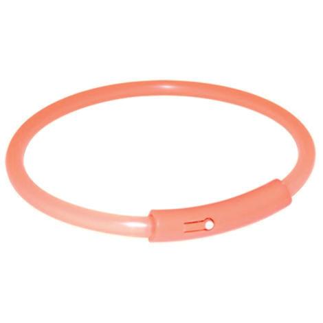 Kroužek TRIXIE blikací oranžový  L