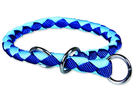 Obojek TRIXIE Cavo modro-tyrkysový  M