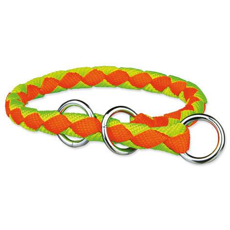 Obojek TRIXIE Cavo neon oranžovo-zelený L