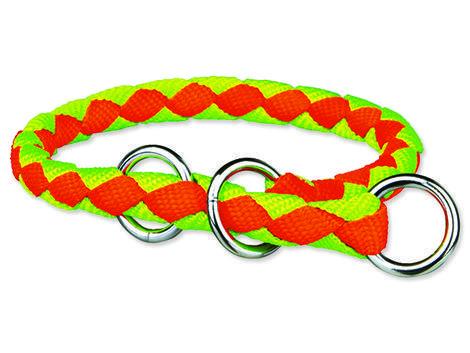Obojek TRIXIE Cavo Neon oranžovo-zelený  L-XL