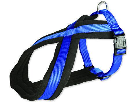 Postroj TRIXIE Premium modrý  M