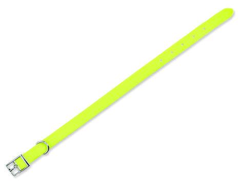 Obojek TRIXIE Easy Life neonově žlutý  S