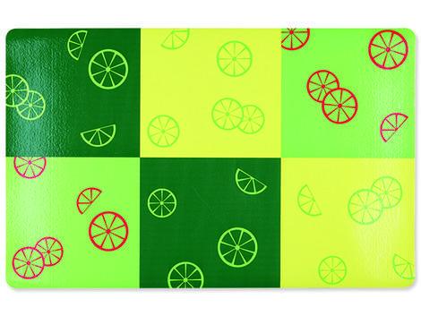 Podložka pod misky TRIXIE Fresh Fruits zelená 44 x 28 cm 1ks