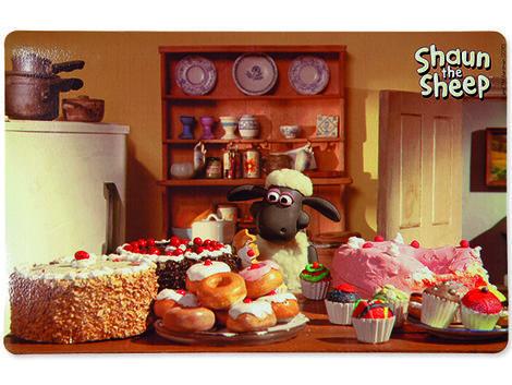 "Podložka pod misky TRIXIE Shaun the Sheep ""dobroty"" 44 x 28 cm 1ks"