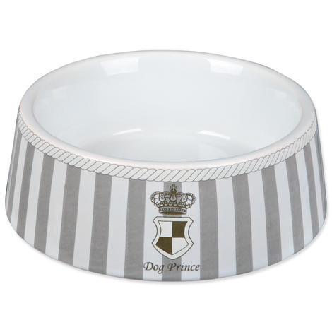 Miska TRIXIE Prince keramická šedo-bílá 0,45l