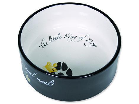Miska TRIXIE keramická King of Dogs 0,6l