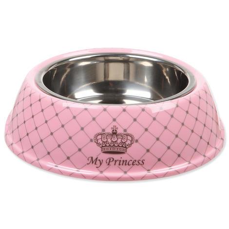 Miska TRIXIE My Princess melamin / nerez růžová 17 cm 0,25l
