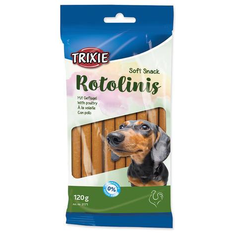Rolky TRIXIE Dog s drůbežím masem 120g