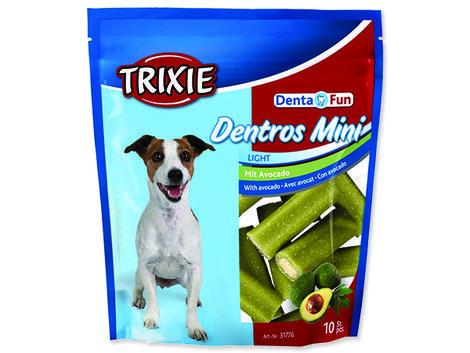 Pochoutka žvýkací TRIXIE Denta Fun Dentros Mini avokádo 140g