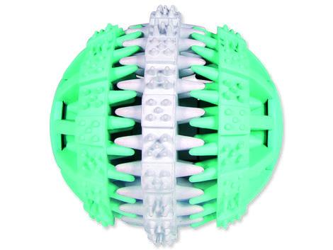 Hračka TRIXIE Denta Fun gumový míč mátový 7 cm 1ks