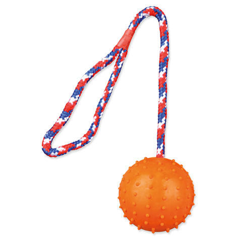 Hračka TRIXIE míč na provaze 30 cm 1ks