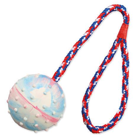 Hračka TRIXIE míček na provázku 1ks