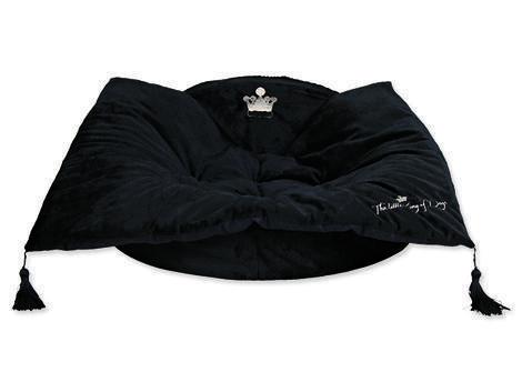 Pelíšek TRIXIE King of dogs černý 55 cm 1ks