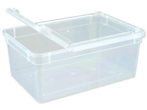 Box TRIXIE plastový průhledný 18 cm 1ks
