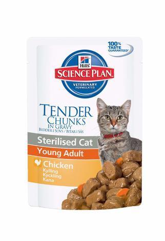 Hill's Feline Sterilised kaps. Chicken 85g