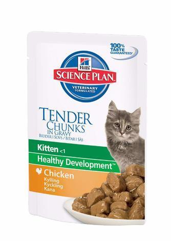 Hill's Feline Kitten kaps.Chicken 85g