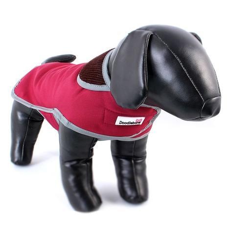 Doodlebone kabát, Drysie, červený, velikost S
