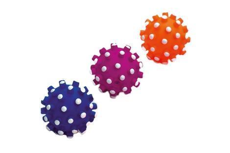 Karlie Hračka pro psy míček ježatý pískací vinyl průměr 9cm
