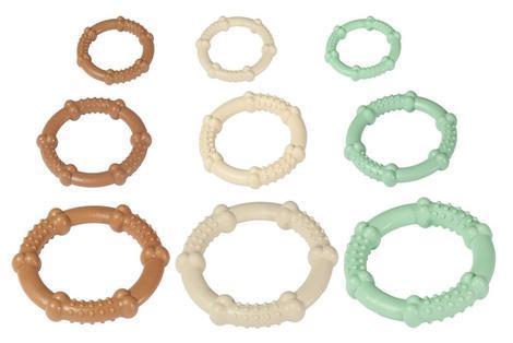 Karlie Nylonový žvýkací kroužek, máta, průměr 7,5cm