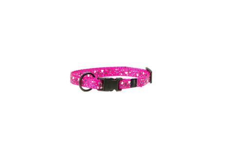 Karlie Obojek ASP Mix&Match růžový motiv CHIP velikost XS 20-35cm 10mm