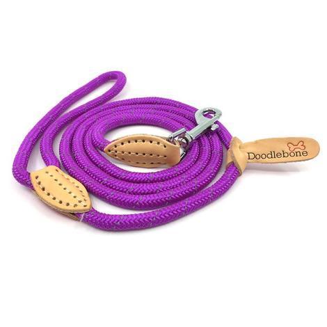 Doodlebone lanové vodítko, fialové, velikost  1,3m