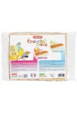 Sušenky pták CRUNCHY CAKE HONEY FRUITS 12ks 150g Zolux