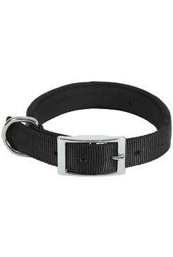 Obojek pes SOFT NYLON černý 25mm/60cm Zolux