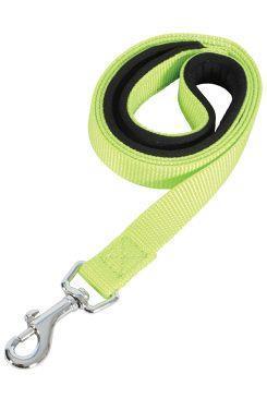Vodítko pes SOFT NYLON zelené 25mm/1m Zolux