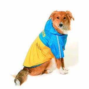 Pláštěnka pro psy 2v1 s odnímatelnou kapucí